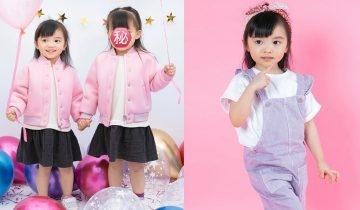 熊黛林雙胞胎女兒3歲生日寫真再引熱議 大女靚到似公仔!網民激烈爭論誰更像爸爸…