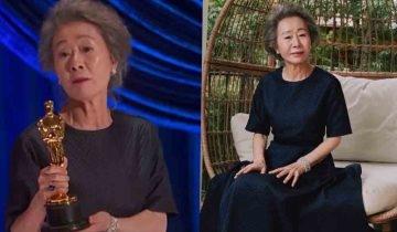 73歲尹汝貞首韓演員奪「奧斯卡2021女配角」流利英文致謝成焦點!前夫出軌曾離婚被視作「失敗女人」