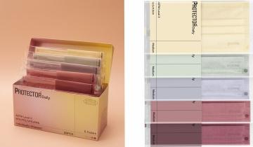 口罩品牌Protector全新春日色系$5/片 一盒有齊5色:奶油黃、鼠尾綠、日出紅