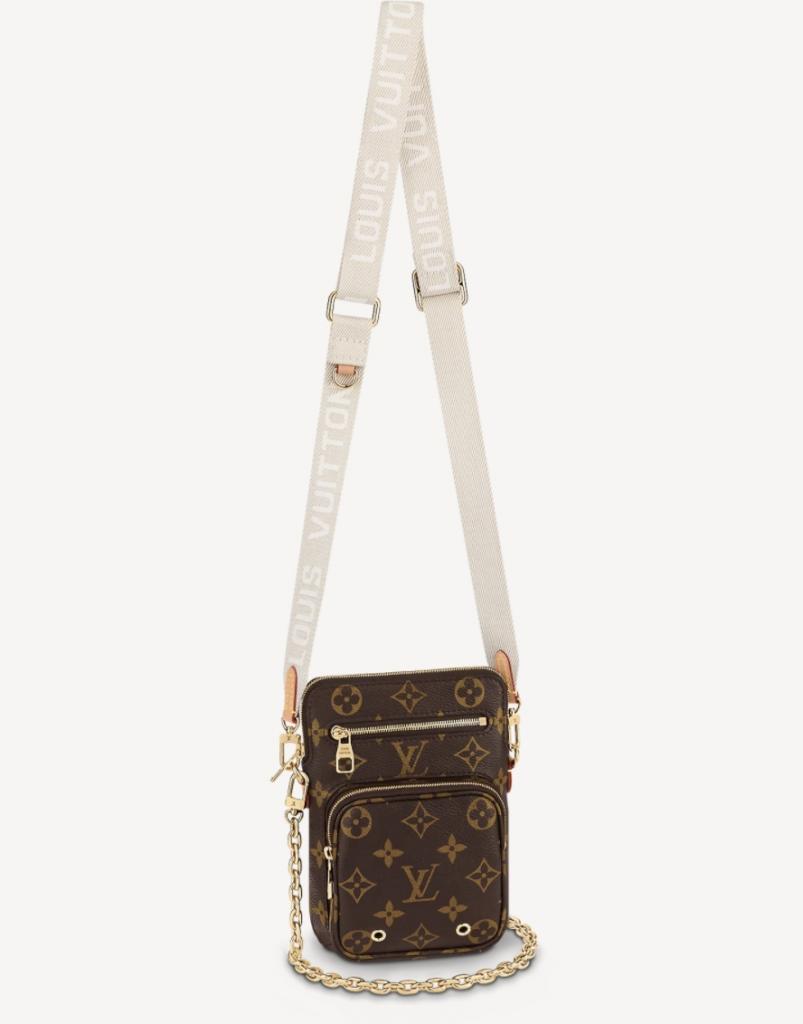 名牌手機袋推介 Louis Vuitton Utility Phone Sleeve HK,400(圖片來源:Louis Vuitton)