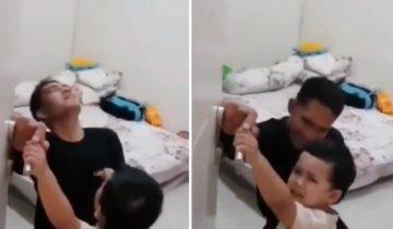 2歲兒子因不祥預感阻父親出門 最終印尼潛艇沉沒!最後身影讓人心酸
