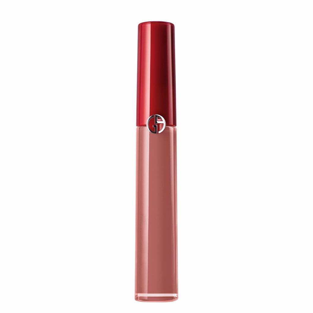 ARMANI Beauty 絲絨啞亮唇釉 #107 NUDA HK5 *ARMANI beauty 網店限定發售。圖片來源:品牌提供。
