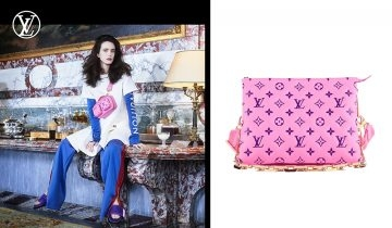 Louis Vuitton Vuittamins系列 初秋撞色monogram 寫意時尚運動風