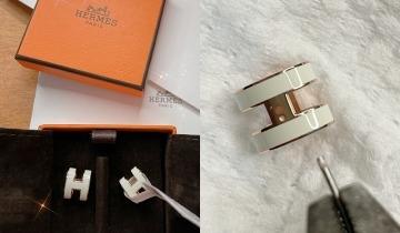 Hermès耳環DIY改造熱潮:秒變2件飾物 變相半價入手Hermès頸鏈/手鏈!