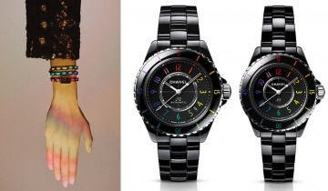 Chanel Electro限定腕錶系列 限量彩虹色J12、Première腕錶