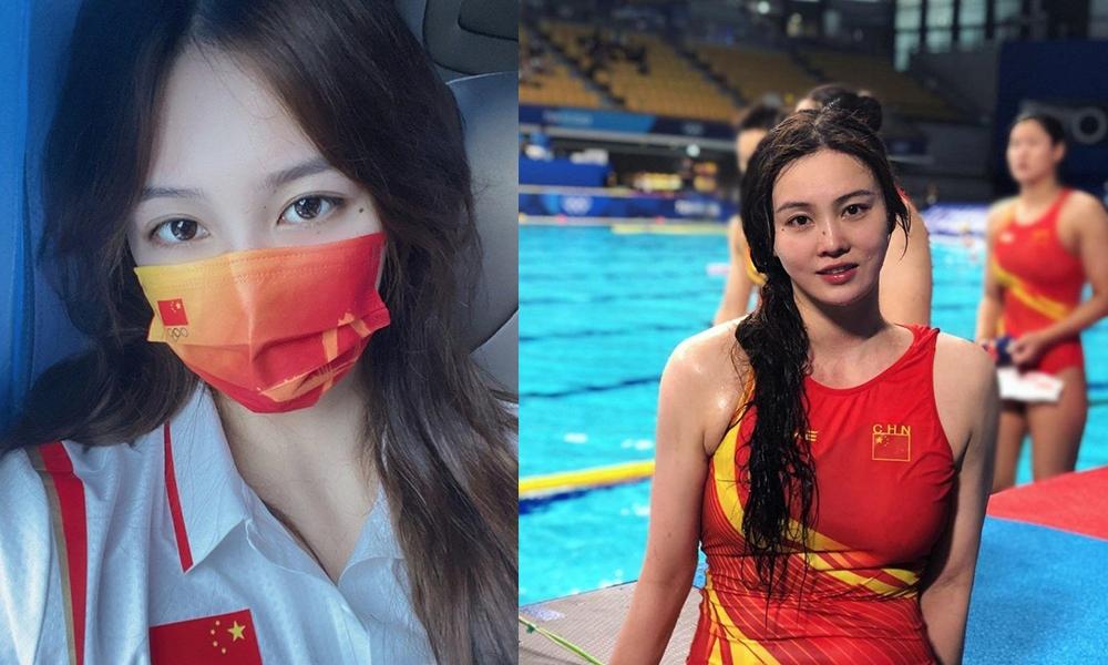 東京奧運|中國水球隊長22歲熊敦瀚美照仙氣十足  訪問「見真章」反差惹爭議
