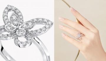 鑽石之王GRAFF Butterfly蝴蝶系列珠寶──$37,500起、日常易襯入門款、獨特鑲鑽工藝