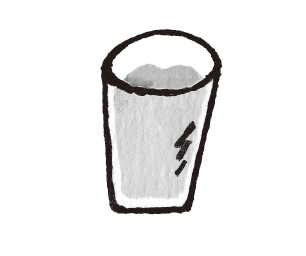 倒入玻璃杯(圖片來源:采實文化)