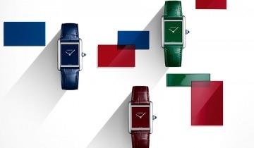 全城熱搶!Cartier Tank Must限量版紅、藍、綠單色腕錶