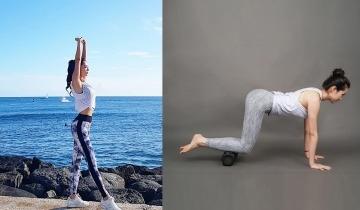瑜伽滾輪7個輔助瘦全身動作 修整肌肉線條 加強燃燒脂肪懶人必學!