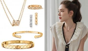 星級示範疊戴時尚品味 推介Chanel Coco Crush系列戒指、耳環、手鐲