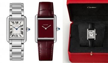 網購入門錶之冠──最新Cartier Tank Must腕錶