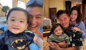 44歲陳山聰浪子變愛妻暖爸!曾指太太餘生唯一 與餅印兒子幸福滿瀉