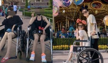 內地健全少女怕累租輪椅遊迪士尼 網上炫耀兼教攻略被狠批濫用資源